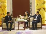 李宁检察长与马尔代夫检察代表团会谈 - 检察