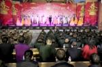 千里走边关文化暖兵心---云南省委省政府春节慰问团分赴各地慰问戍边官兵 - 文化厅