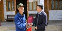 李华松深入挂钩村看望慰问困难老党和群众 - 人民代表大会常务委员会