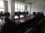 李志勇与联系工委干部进行廉政谈话 - 人民代表大会常务委员会