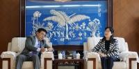 石林会见柬埔寨驻昆总领事叶伟罗一行 - 文化厅