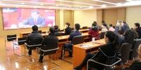 云南省文化和旅游厅组织收看庆祝改革开放40周年大会 - 文化厅