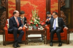 李克强会见世界银行行长马尔帕斯 - 人力资源和社会保障厅